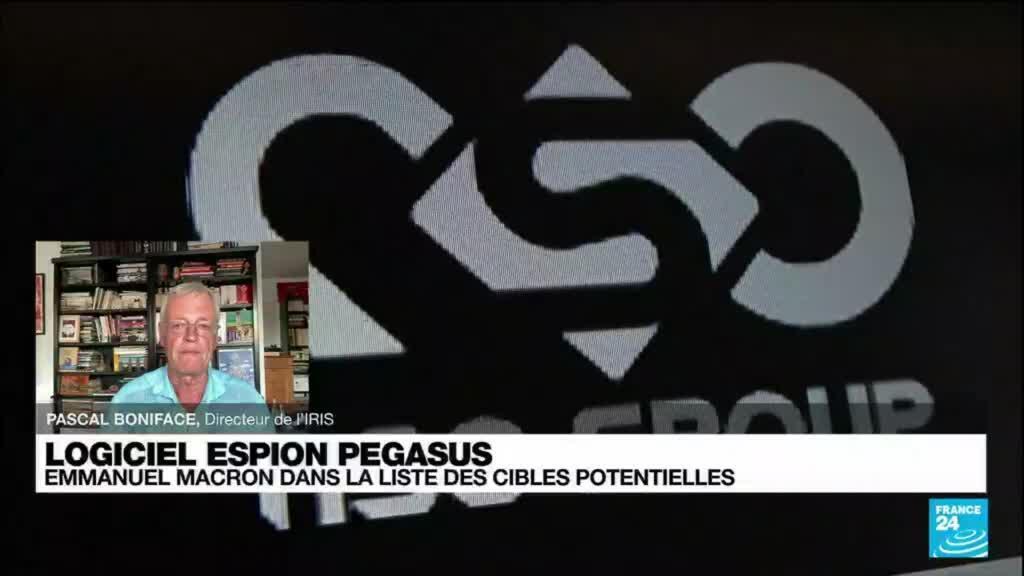 2021-07-20 21:32 Affaire Pegasus : Emmanuel Macron dans les cibles potentielles du logiciel espion