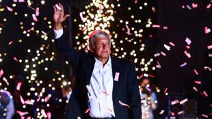 El nuevo presidente de México, Andrés Manuel López Obrador.