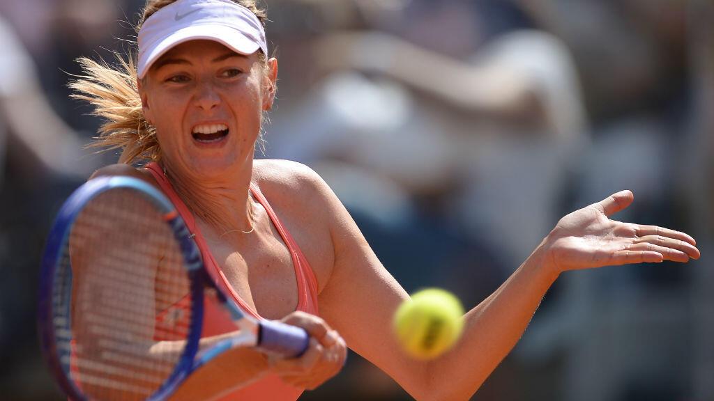 Maria Sharapova a hérité d'un tirage plus favorable que sa rivale Serena Williams.