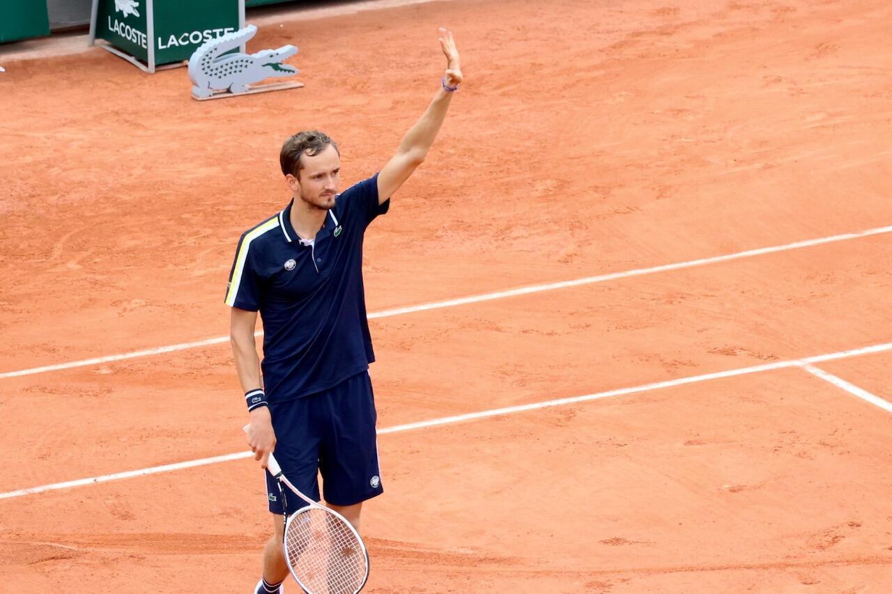 Medvedev Tennis roland-garros