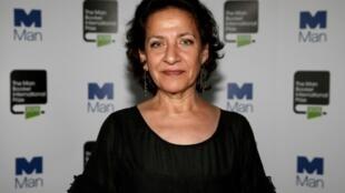 L'écrivaine libanaise Hoda Barakat à Londres, le 19 mai 2015