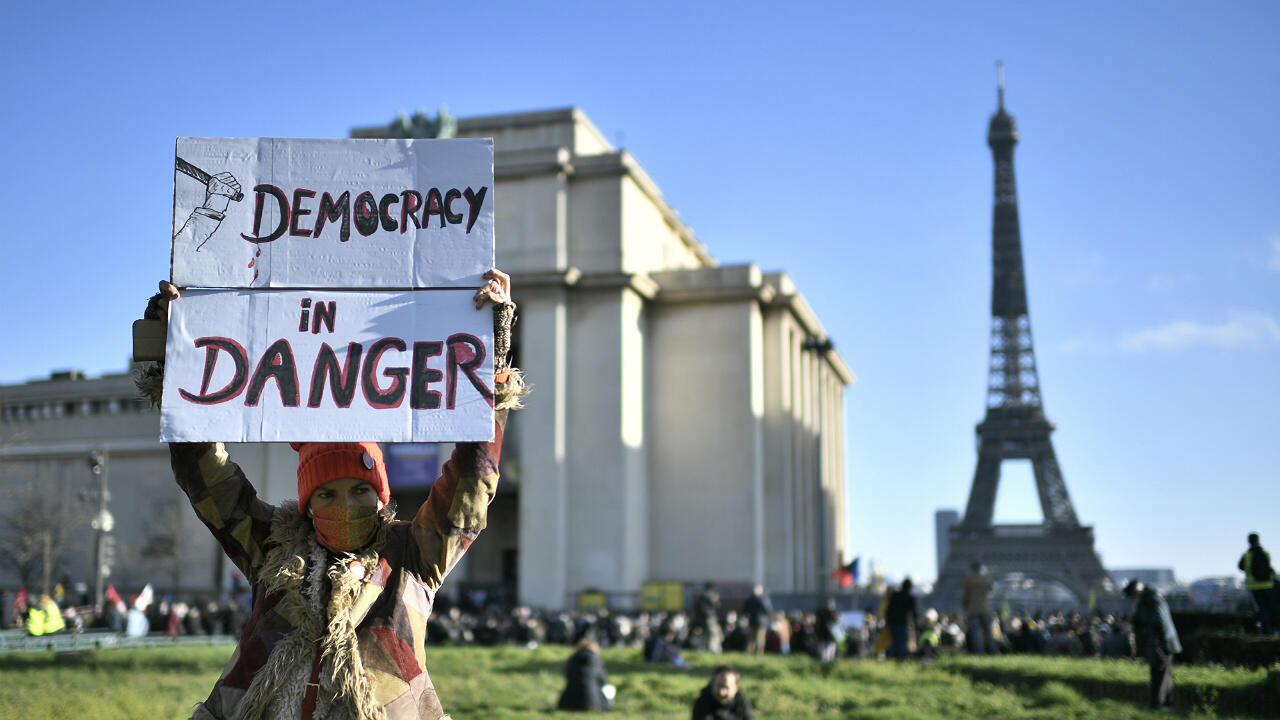 Rights groups, press freedom advocates protest against French security bill