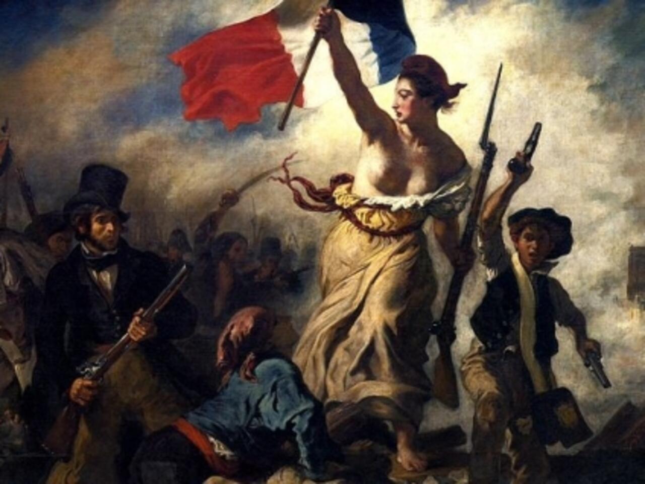 Le Celebre Tableau La Liberte Guidant Le Peuple Vandalise Au Louvre Lens