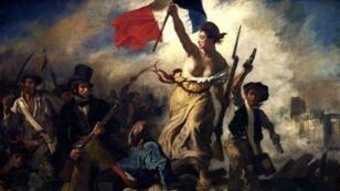 """""""La Liberté guidant le peuple"""", Eugène Delacroix (1830)"""