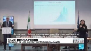 """2020-04-01 09:09 Coronavirus en Italie : """"À présent, nous entamons la descente"""""""