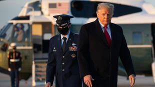 Trump Air Force One leaving for Xmas break