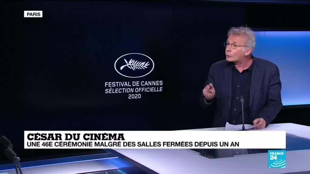 2021-03-12 13:41 César du cinéma : une 46ème cérémonie malgré des salles fermées depuis un an