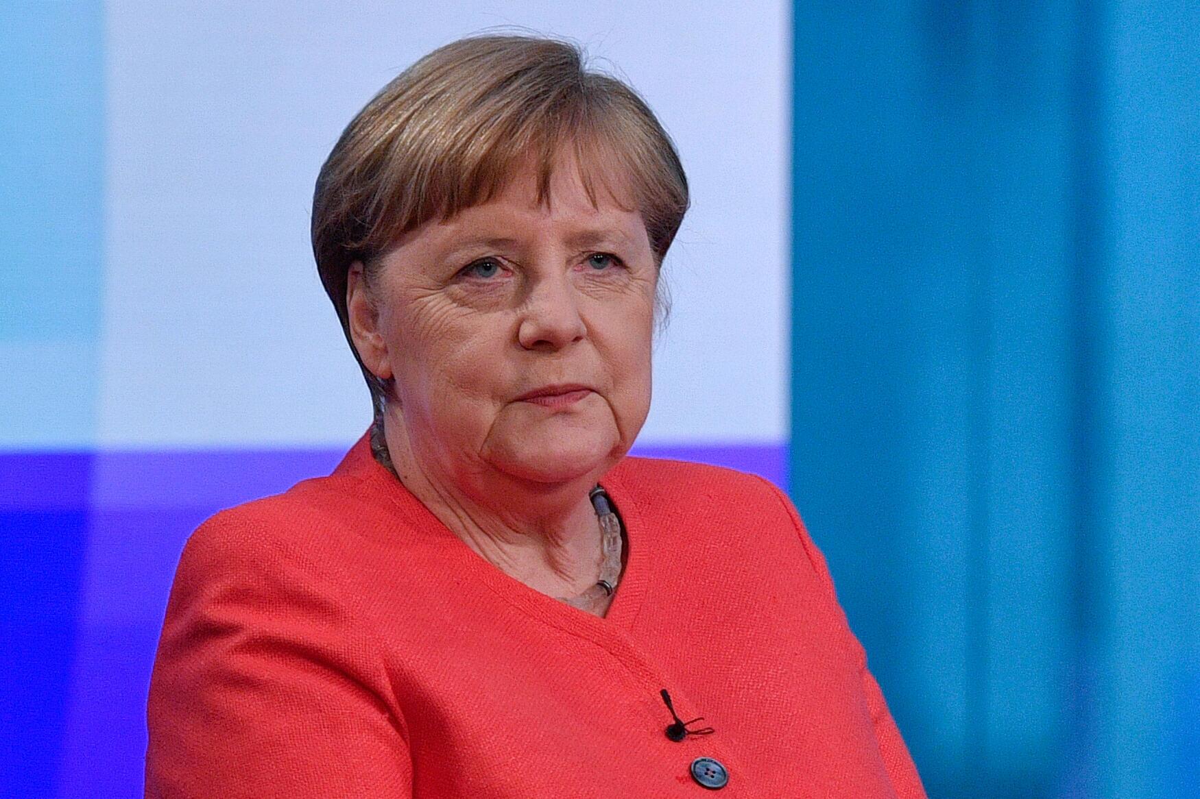 La chancelière allemande Angela Merkel, le 4 juin 2020.