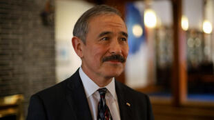 Ambassador Harry Harris, before he removed his much debated moustache
