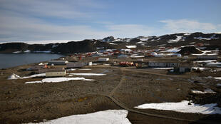 Chile's Eduardo Frei Antarctic base on the Fildes Peninsula, King George island on May 10, 2020