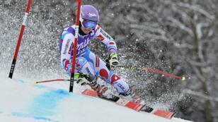 Tessa Worley, l'une des championnes du ski alpin français.