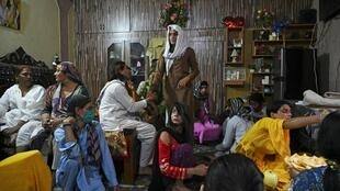 Transgender people in Pakistan are largely shunned by society
