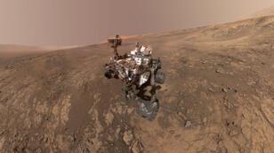 Le dernier selfie de Curiosity, réalisé le 23 janvier dernier.