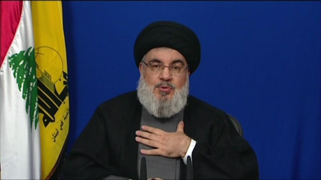 Lebanon's Hezbollah leader 'categorically denies' storing arms at Beirut blast site