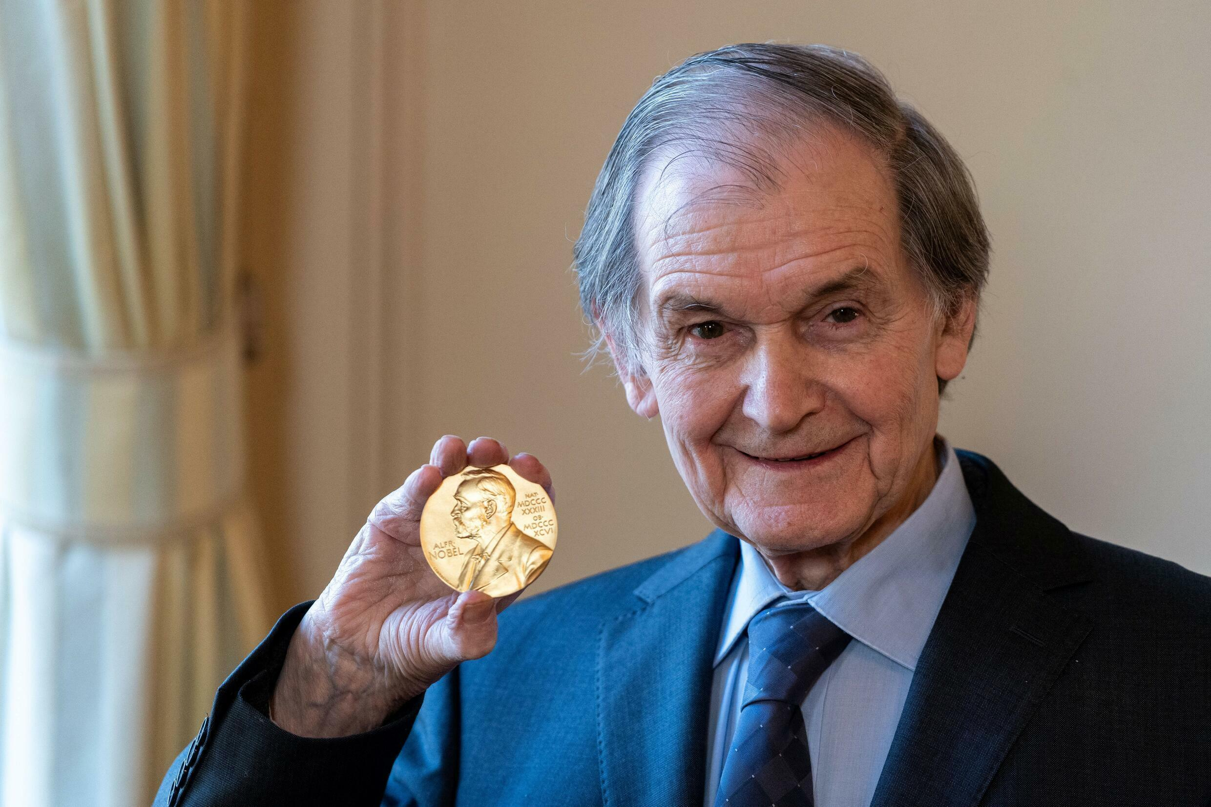 Nobel laureate in physics Roger Penrose received the 2020 prize with Reinhard Genzel from Germany and Andrea Ghez from the United States