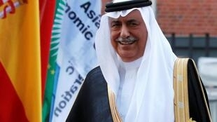 صورة أرشيفية لوزير الخارجية السعودي الجديد إبراهيم العساف