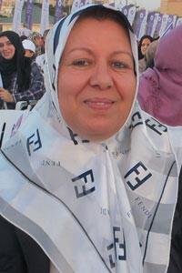 Al Watan's Radia Alwerimmi believes Libyan women must enter the national political scene.