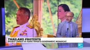 2020-09-24 11:04 Thailand protests: Why Thai protesters are challenging the monarchy?