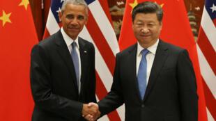 Allocution du président chinois Xi Jinping, lors de la cérémonie d'ouverture du sommet du G20, à Hangzhou, le 3 septembre.