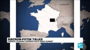 2020-06-26 16:38 Macron and Putin hold virtual summit