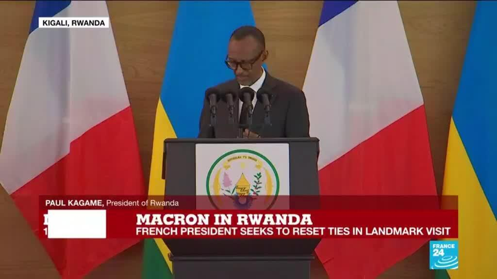 2021-05-27 13:11 REPLAY: France's Macron meets Rwanda's Kagame to turn page on post-genocide tensions