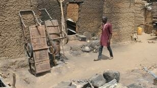 Torched homes in Zeleved, northern Cameroon -- the work of Boko Haram jihadists from Nigeria