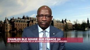 Charles Blé Goudé, ancien ministre de la Jeunesse de Laurent Gbagbo, le 4 juin 2020.
