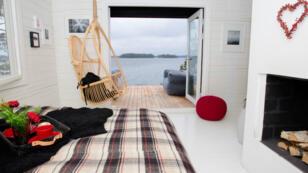 Une cabine de l'île SuperShe.