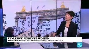 2020-11-25 12:06 Violence against women: Coronavirus pandemic inflames domestic abuse