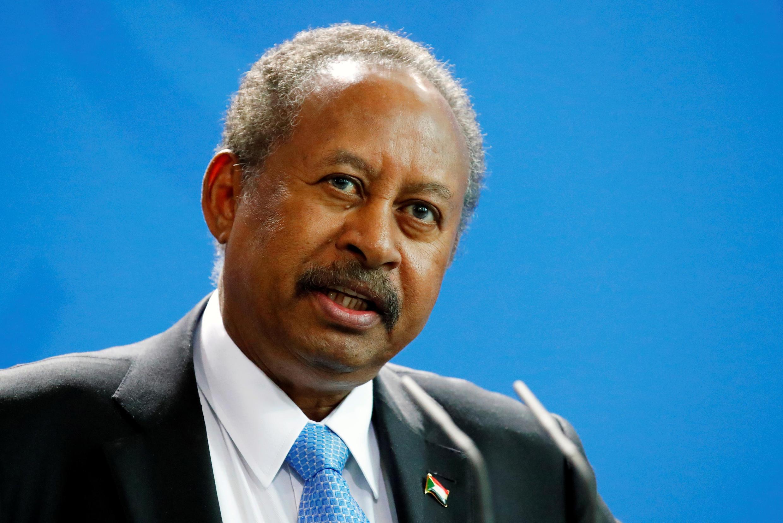 Le Premier ministre soudanais Abdallah Hamdok, le 14 février 2020, à Berlin, en Allemagne.
