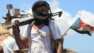 مقاتل جنوبي في اليمن