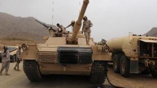 مدرعات تابعة للقوات المسلحة السعودية