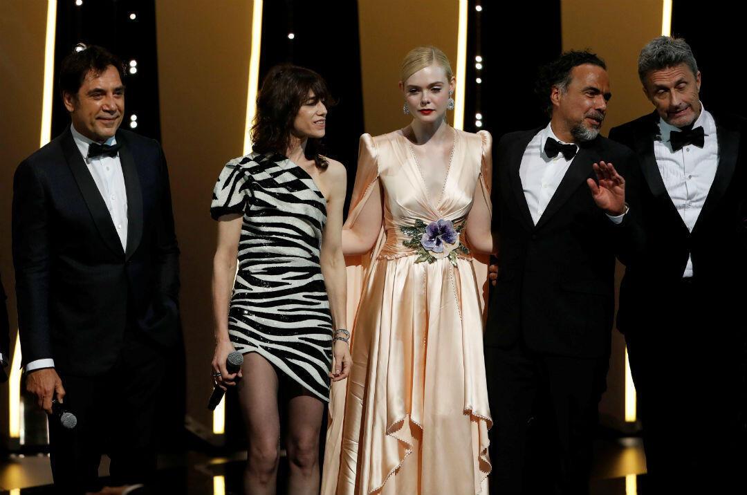 Ceremonia de Apertura del Festival de Cine de Cannes, el 14 de mayo de 2019.