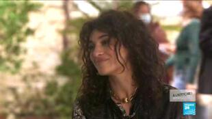 La chanteuse et actrice Camélia Jordana sur France 24