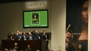 "Leonardo?s ""Salvator Mundi"" sold for a record-smashing $450 million at Christie's in November 2017"