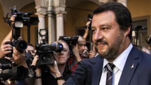 Le parquet de Palerme a confirmé l'enquête pour séquestration de personnes contre Matteo Salvini.