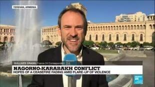 2020-10-07 10:07 Nagorno-Karabakh conflict: Armenia says 21 more killed in fighting with Azerbaijan