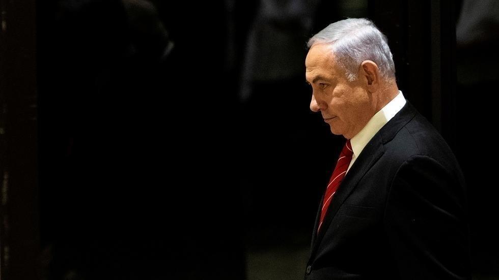 رئيس الوزراء الإسرائيلي المكلف بنيامين نتانياهو في القدس - 25 سبتمبر/أيلول 2019.