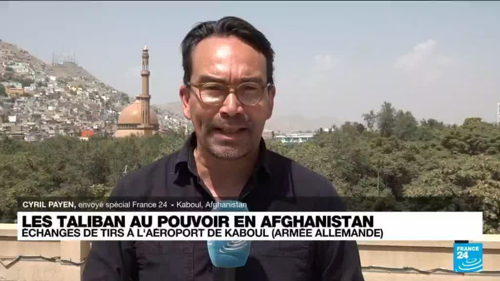 2021-08-23 08:35 Afghanistan : des affrontements importants aux abords de l'aéroport de Kaboul