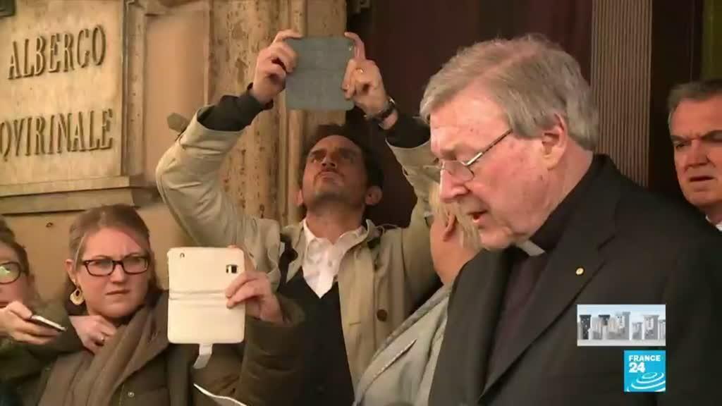 2020-04-07 08:13 Pédophilie dans l'Église : En Australie, le cardinal George Pell, acquitté, est sorti de prison