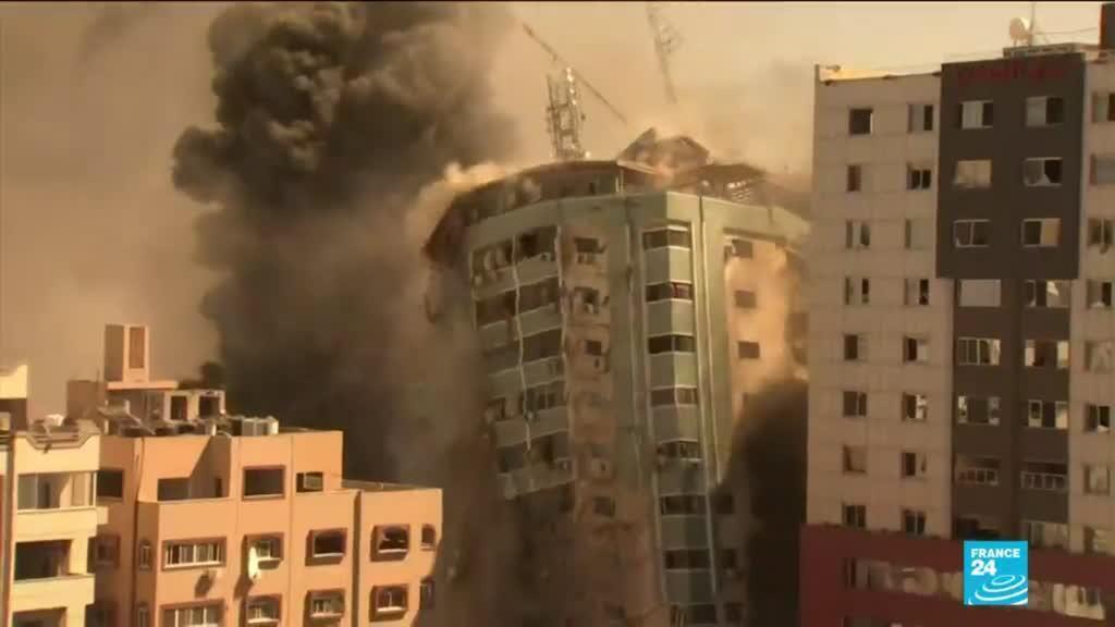 2021-05-17 14:03 Conflit israélo-palestinien : Reporters sans frontières saisit la cour pénale internationale