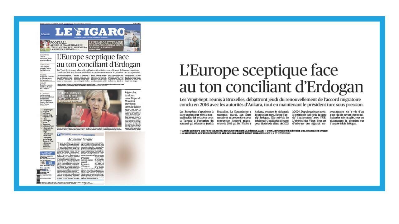 Discussions à Bruxelles sur le nouvel accord migratoire avec la Turquie