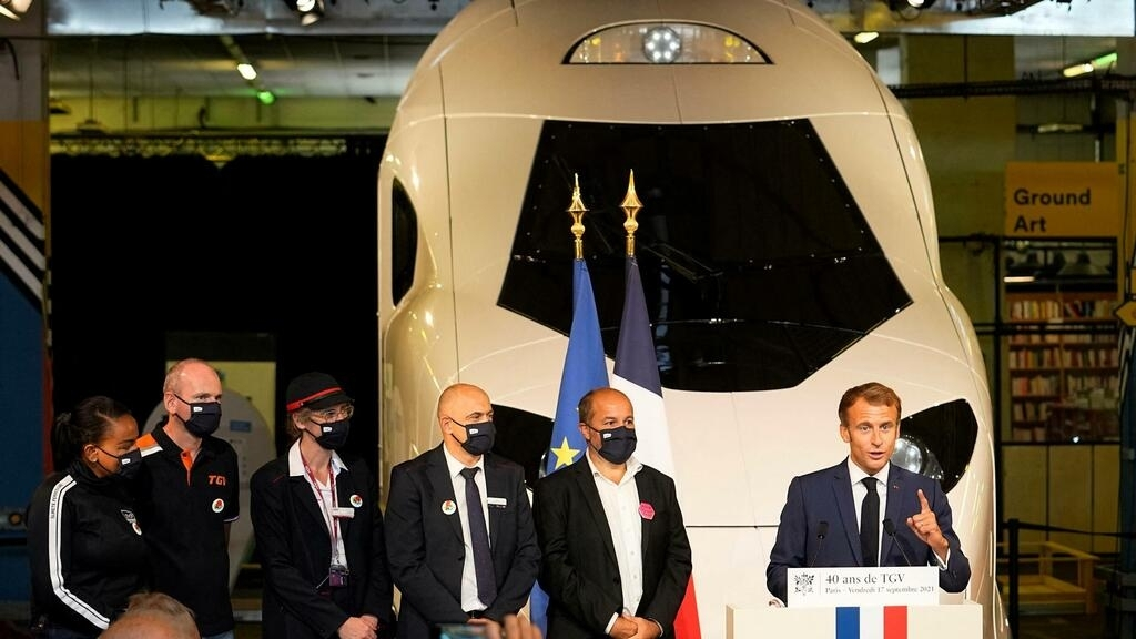 France celebrates 40 years of high-speed TGV trains...