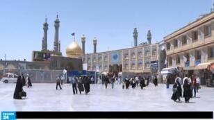 مدينة قم تبعد 120 كلم جنوبي العاصمة طهران