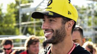 Daniel Ricciardo will swap Renault for McLaren next season
