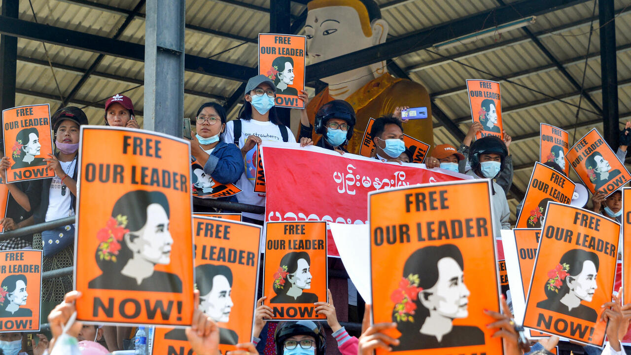 Myanmar's Suu Kyi faces new costs as protests proceed