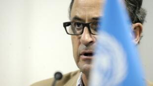 """الجنرال الهولندي باتريك كاميرت رئيس """"لجنة تنسيق إعادة الانتشار"""" الأممية في الحديدة اليمنية"""