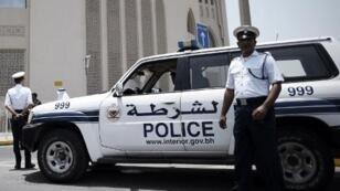 حاجز للشرطة البحرينية