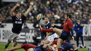 Le XV de France a battu l'Écosse samedi 7 février 2015 au Stade de France.