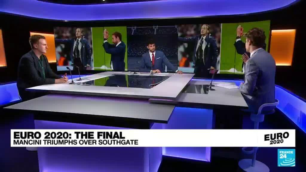 2021-07-12 00:04 Italy beat England on penalties to win Euro 2021